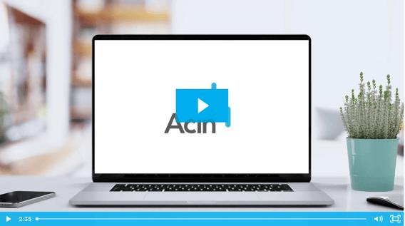 Acin Platform Demo Video Spring 21